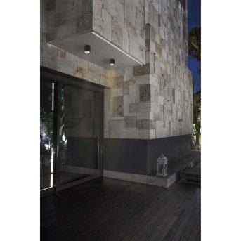 Faro Barcelona Goz Deckenleuchte LED Grau, 1-flammig