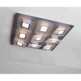 Bopp FRAME Deckenleuchte LED Aluminium, 9-flammig