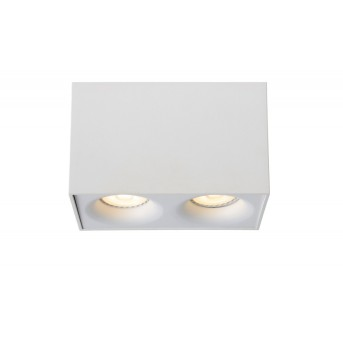 Lucide BENTOO-LED Downlight Weiß, 2-flammig