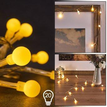 Sondrio Lichterkette LED, 20-flammig