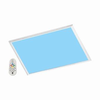 Eglo SALOBRENA-C Rasterleuchte LED Weiß, 1-flammig, Fernbedienung, Farbwechsler