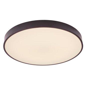 Brilliant Slimline Deckenleuchte LED Schwarz, Weiß, 1-flammig