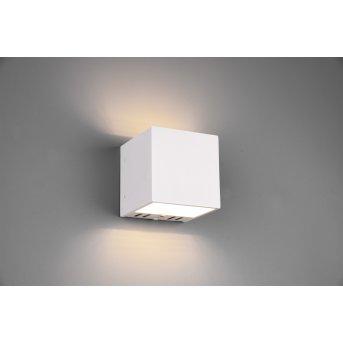 Trio Leuchten Figo Wandleuchte LED Weiß, 1-flammig, Fernbedienung, Farbwechsler