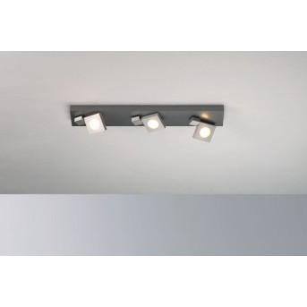 Bopp Flash Deckenleuchte LED Aluminium, 3-flammig