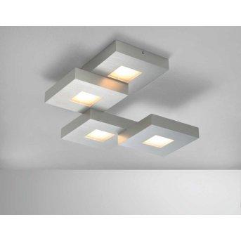 Bopp CUBUS Deckenleuchte LED Aluminium, 4-flammig
