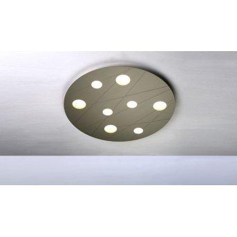 Bopp GRAFICO Deckenleuchte LED Beige, 8-flammig