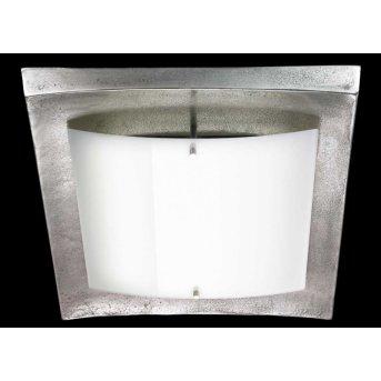 Fischer Leuchten Shine Alu Deckenleuchte LED Nickel-Matt, 1-flammig