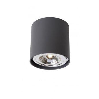 Lucide DIALO-LED Deckenleuchte Schwarz, 1-flammig