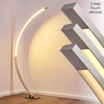 Ruswil Bogenlampe LED Nickel-Matt, 1-flammig