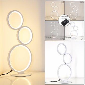 Rodekro Tischleuchte LED Weiß, 1-flammig