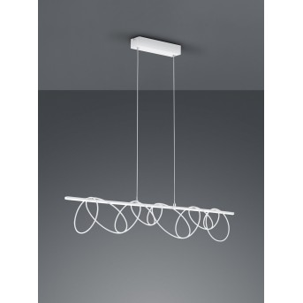 Reality Saba Pendelleuchte LED Weiß, 1-flammig