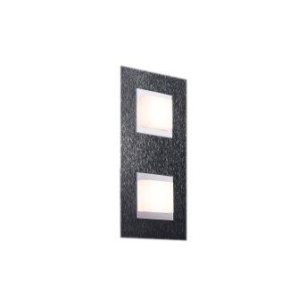 Grossmann BASIC Wandleuchte LED Anthrazit, 2-flammig