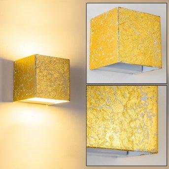 Olbia Wandleuchte LED Gold, 1-flammig