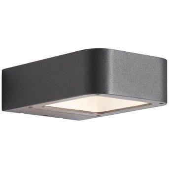 AEG Phelia Außenwandleuchte LED Anthrazit, 1-flammig