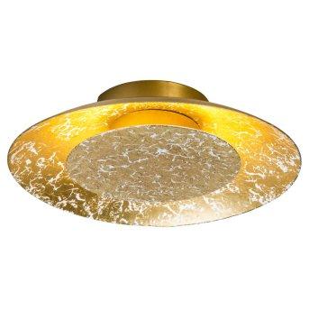 Nino Leuchten DALIA Deckenleuchte LED Gold, 1-flammig