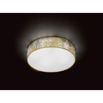 Wofi LEIKA Deckenleuchte LED Gold, 1-flammig