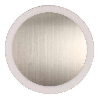 Lutec MOON Wandleuchte Silber, 1-flammig
