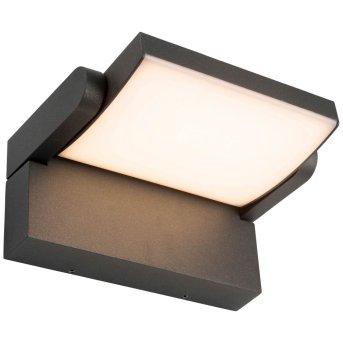 AEG Grady Außenwandleuchte LED Anthrazit, 1-flammig