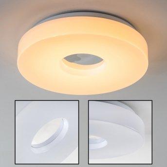 Loris Deckenleuchte LED Weiß, 1-flammig