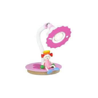 Elobra PRINZESSIN Tischleuchte Pink, Weiß, 1-flammig