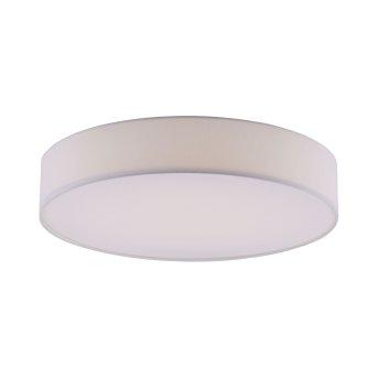 Leuchten Direkt Ls-KIARA Deckenleuchte LED Weiß, 1-flammig, Fernbedienung, Farbwechsler