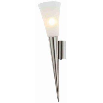 Nino Leuchten RADUZ Wandleuchte LED Nickel-Matt, 1-flammig