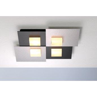 Bopp PIXEL 2.0 Deckenleuchte LED Schwarz, 4-flammig