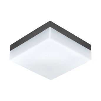 Eglo SONELLA Deckenleuchte LED Anthrazit, 1-flammig