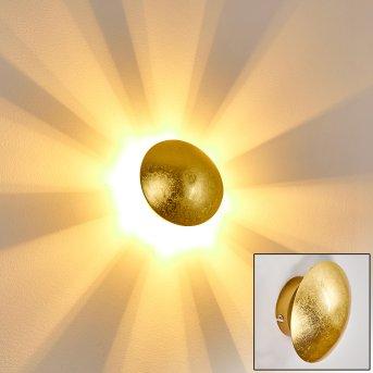 Mezia Wandleuchte Gold, 1-flammig