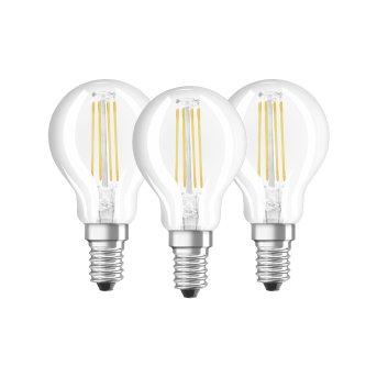 Osram LED 3er Pack E14 4 Watt 4000 Kelvin 470 Lumen