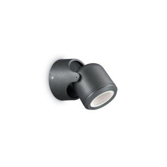 Ideal Lux XENO Aussenwandleuchte Schwarz, 1-flammig