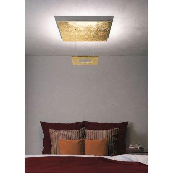 Escale ZEN D2W Deckenleuchte LED Gold, 4-flammig