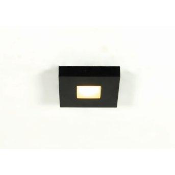 Bopp Leuchten Cubus Deckenleuchte LED Schwarz, 1-flammig