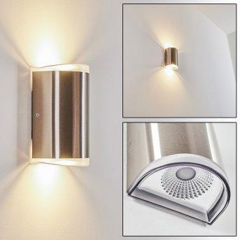 Rumar Außenwandleuchte LED Edelstahl, 1-flammig