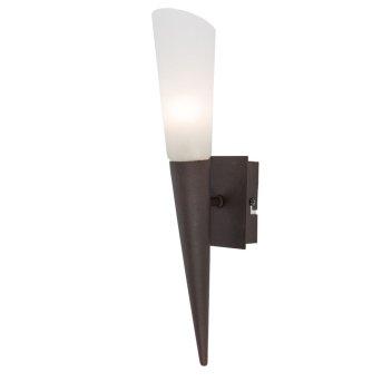 Nino Leuchten RIVERPOOL Wandleuchte LED Rostfarben, 1-flammig
