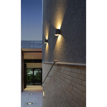 Lutec DODD Wandleuchte LED Anthrazit, 2-flammig