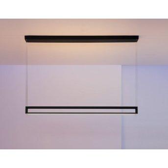 Escale Akio Pendelleuchte LED Schwarz, 2-flammig