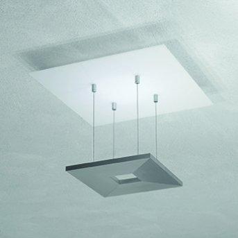 Escale ZEN D2W Deckenleuchte LED Anthrazit, Weiß, 4-flammig