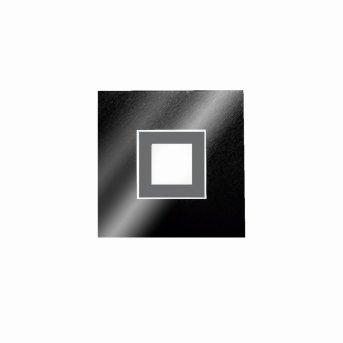 Grossmann KARREE Wand- und Deckenleuchte LED Schwarz, Titan, 1-flammig