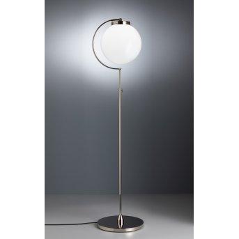 Tecnolumen DSL 23 Stehlampe Nickel glänzend, 1-flammig