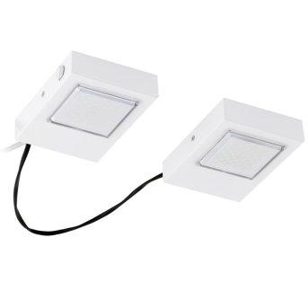 Eglo LAVAIO Kücheneinbauleuchte LED Weiß, 2-flammig