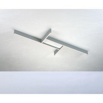 Bopp NANO PLUS BASIC Deckenleuchte LED Aluminium, Weiß, 1-flammig