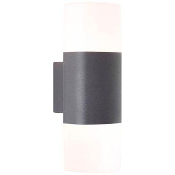 AEG Farlay Außenwandleuchte LED Anthrazit, 2-flammig