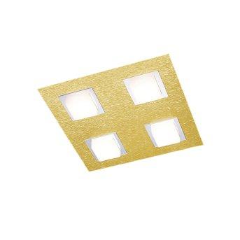 Grossmann BASIC Deckenleuchte LED Messing, 4-flammig