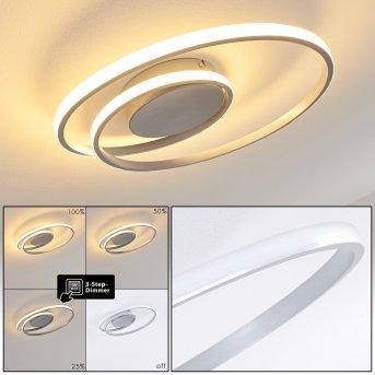 Leksund Deckenleuchte LED Silber, 1-flammig