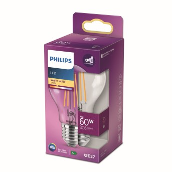 Philips LED E27 7 Watt 2700 Kelvin 806 Lumen