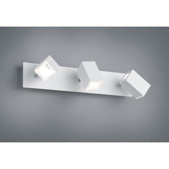 Trio Leuchten LAGOS Wandleuchte LED Nickel-Matt, 3-flammig