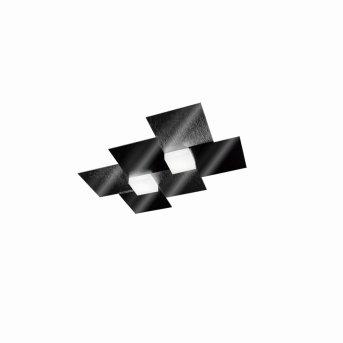 Grossmann CREO Deckenleuchte LED Schwarz, 2-flammig