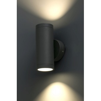 Faro Barcelona Cobo Wandleuchte LED Anthrazit, 1-flammig
