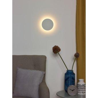 Lucide EKLYPS LED Wandleuchte Weiß, 1-flammig